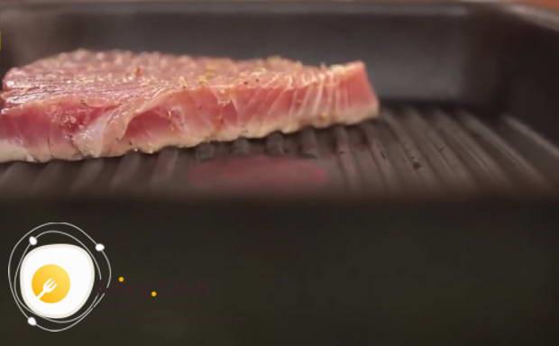 стейк тунца рецепты приготовления с фото