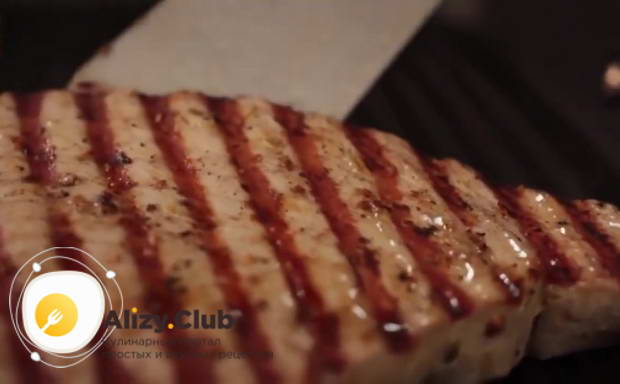 стейк из тунца как готовить