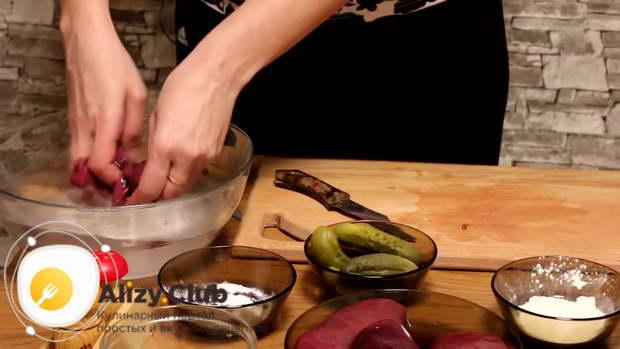 почки свиные рецепт приготовления с солеными огурцами
