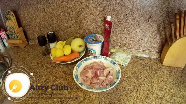 Как выбрать продукты для жаркого из кролика в казане