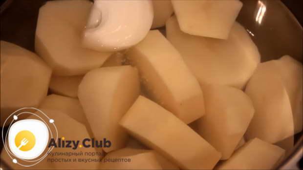 Видео рецепта простой картофельной запеканки
