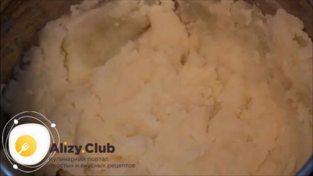 Рецепт запеканки из картофельного пюре с фаршем и с грибами в духовке