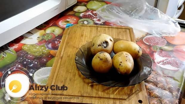 Смотрите как варить картошку в микроволновке
