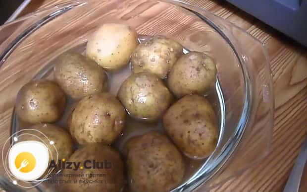 Все о том как сварить картошку в микроволновке в мундире