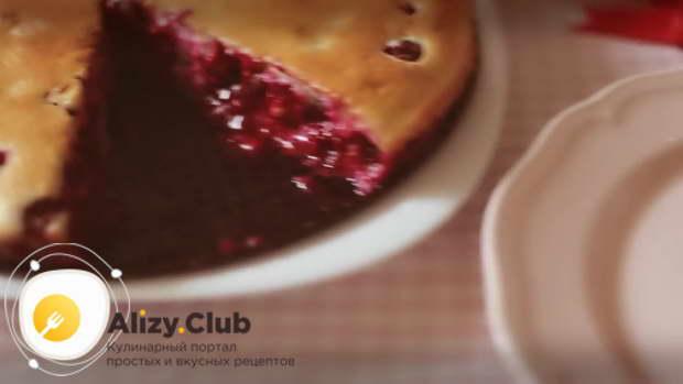 Видео рецепта пирога клафути