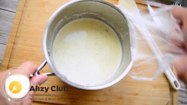 По рецепту для приготовления крем-брюле в домашних услвиях подготовьте ингредиенты