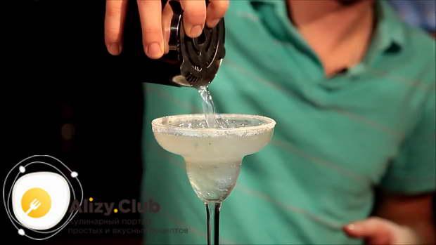 маргарита клубничная коктейль рецепт
