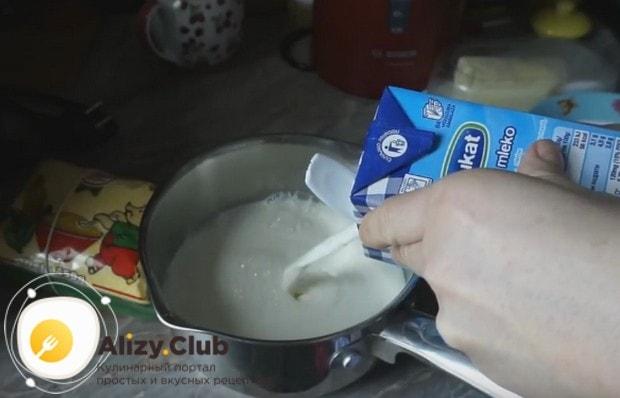 А вот еще один рецепт о том, как варить кукурузную кашу на молоке.