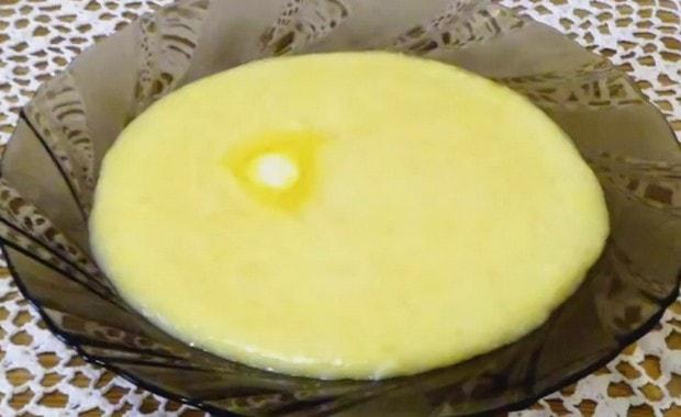 Как приготовить курузную кашу на молоке по пошаговому рецепту с фото