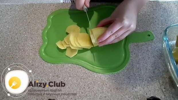 приготовление куриных крылышек с картошкой в духовке