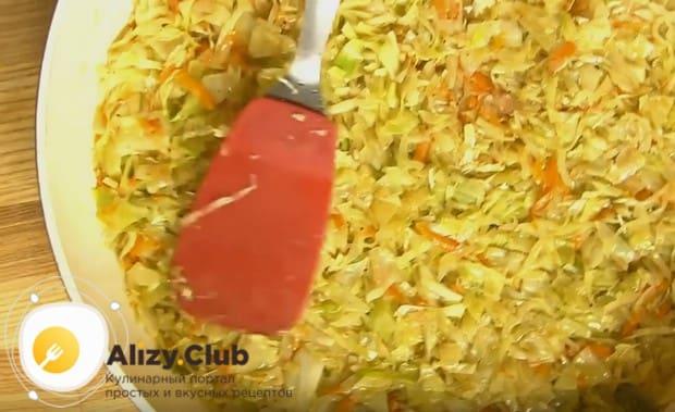 По этому рецепту вы сможете приготовить вкусный ленивый пирог с капустой, быстрее не бывает!