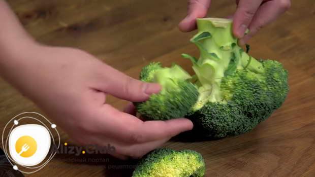 Рецепт рыбы с брокколи в духовке