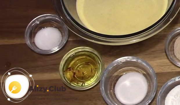 Рецепт марокканских блинов Багрир из манки