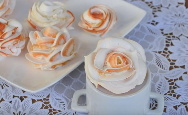 Пошаговый рецепт приготовления крема Мокрое безе с фото