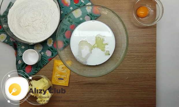 рецепт молочных коржиков из детства