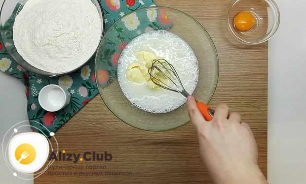 коржики молочные из детства рецепт