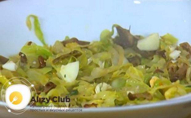 Готовая капустная начинка для блинов