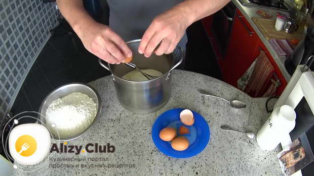 Рецепт с фото пышных оладьев на простокваше
