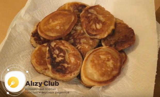 Ванильные оладьи на ряженке - рецепт пошаговый с фото