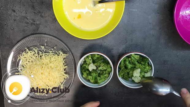 цветная капуста и брокколи запеченные в духовке