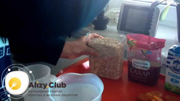 Рецепт овсянки на воде в мультиварке