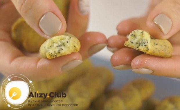 Печенье получается хрустящим, рассыпчаты и необычайно вкусным!