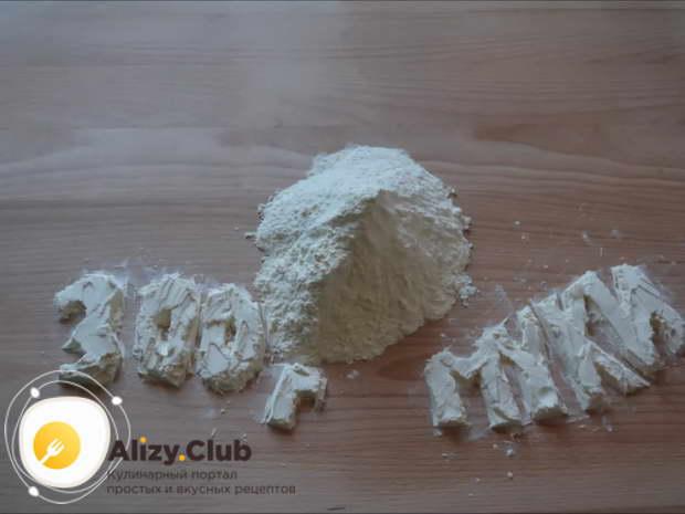 песочный пирог с клюквой