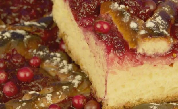 Пошаговый рецепт приготовления пирога с брусникой