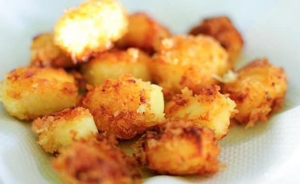 Пошаговый рецепт приготовления жареного сыра с фото