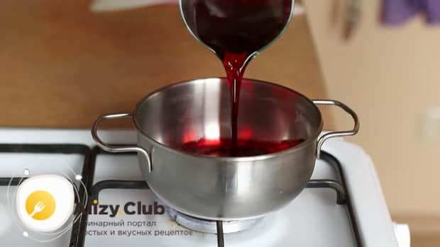 По рецепту для приготовления постного торта в домашних условиях. нагрейте никтар