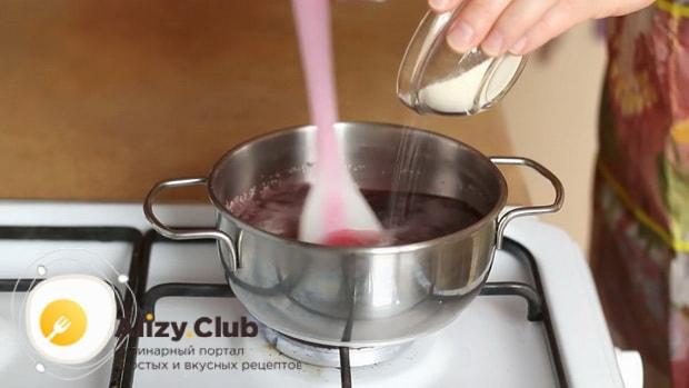 По рецепту для приготовления постного торта в домашних условиях. добавьте манку