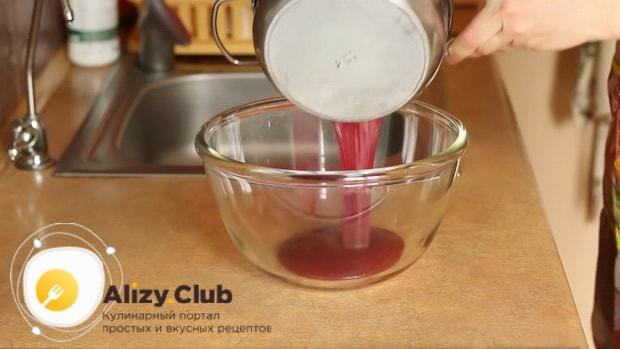 По рецепту для приготовления постного торта в домашних условиях. подготовьте ингредиенты для мусса