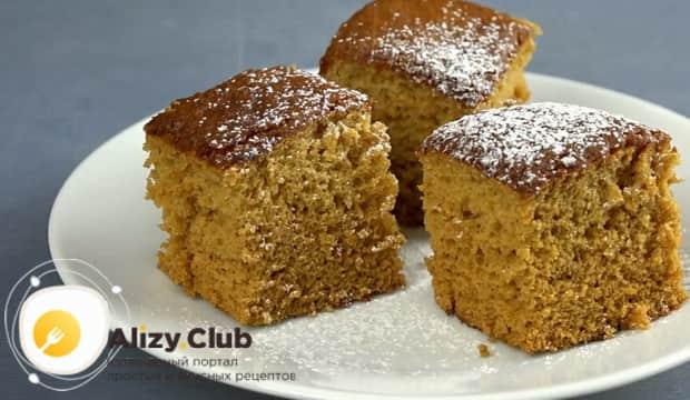 Для приготовления медового пирога по рецепту в духовке, подготовьте ингредиенты