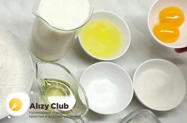 оладьи на кислом молоке пышные