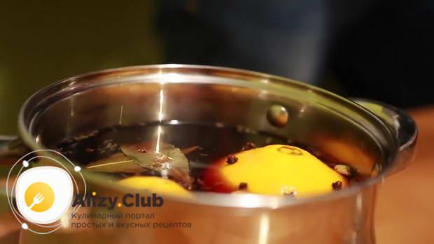 Видео рецепта царского глинтвейна
