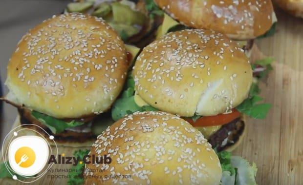 По нашему рецепту с фото вы с легкостью сможете приготовить такие вкусные бургеры в домашних условиях.