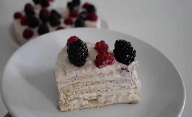 Как приготовить диетический торт по пошаговому рецепту с фото