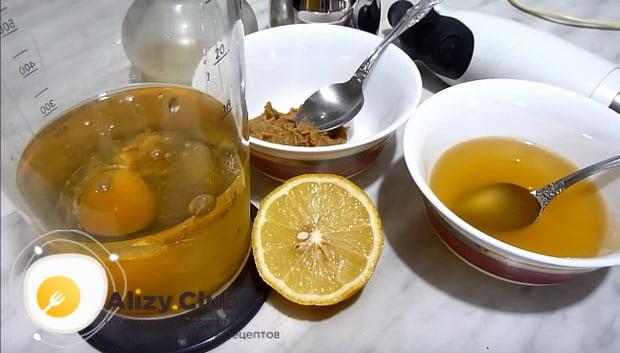 Готовим миксером домашний майонез с лимоном по классическому рецепту