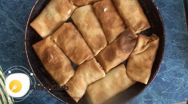 Как приготовить блины фаршированные печенью