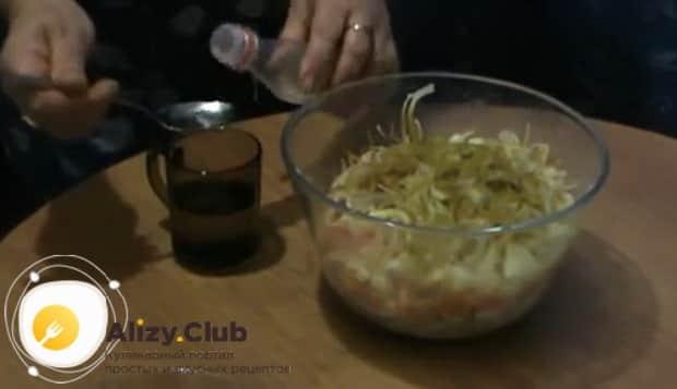 Для приготовления хе из щуки, по рецепту смешайте ингредиенты