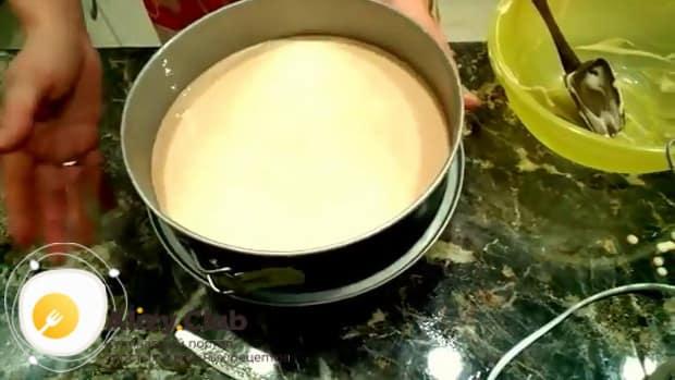 Готовим пирог из киселя в мультиварке