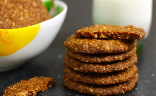 Как приготовить овсяное печенье из овсяных хлопьев по рецепту с фото