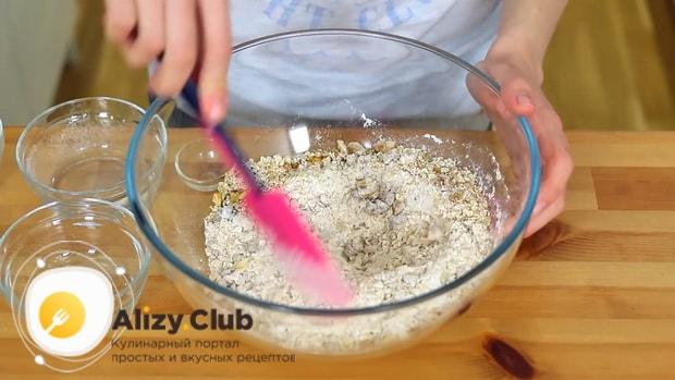 Простой рецепт вкусного овсяного печенья из овсяных хлопьев