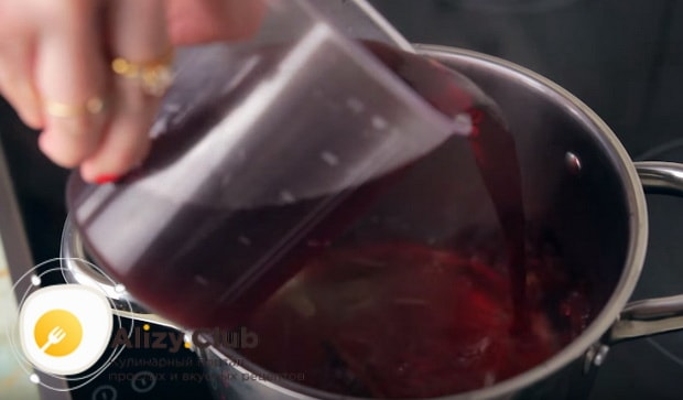 Пошаговый безалкогольный рецепт приготовления глинтвейна с вишневым соком