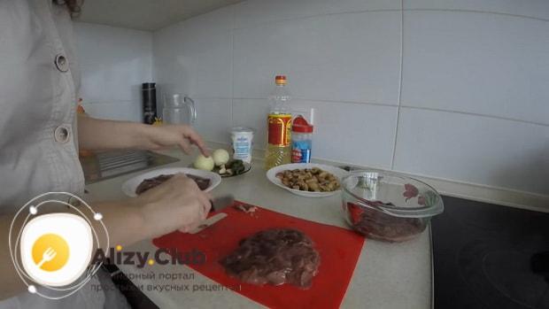 Все о том как вкусно приготовить куриную печень в сметане