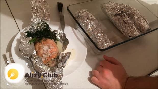 Морской окунь приготовленный в духовке по простому рецепту готов