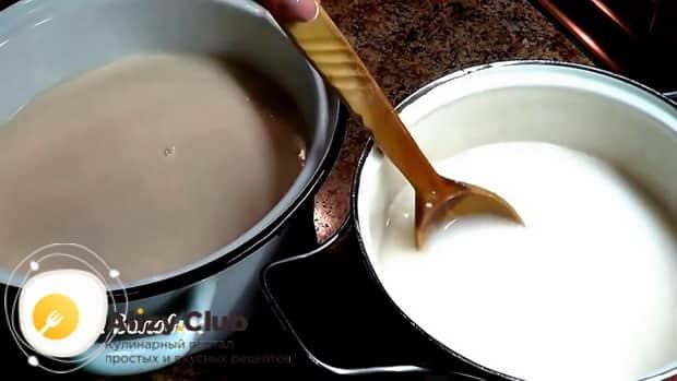 Для приготовления овсяного киселя из овсяных хлопьев подготовьте ингредиенты