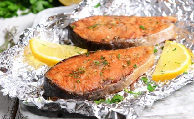 Как приготовить красную рыбу в духовке по рецепту с фото