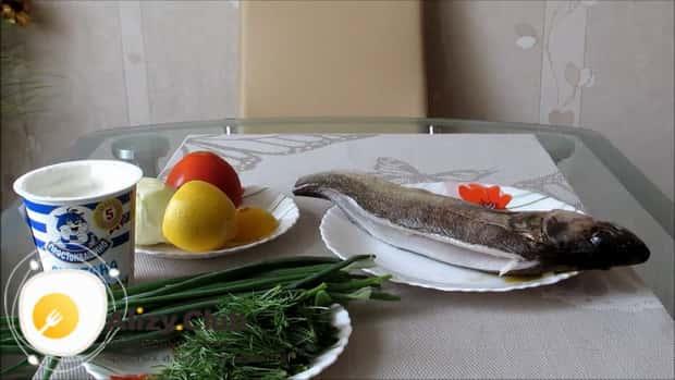 Для приготовления судака в духовке целиком. по рецепту очистите рыбу
