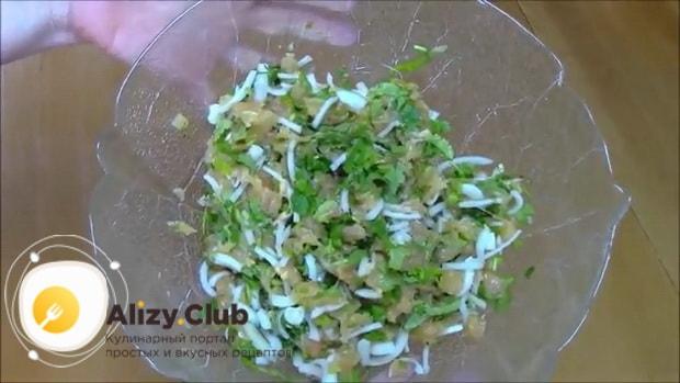 Для приготовления хинкала дагестанского с курицей. следуя рецепту с фото приготовьте начинку